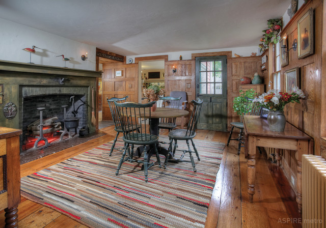 colonial dining rooms | American Colonial Living Room - Traditional - Dining Room ...