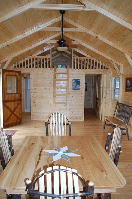 Amish Prebuilt Fully Assembled Cabins Delivered Rustic