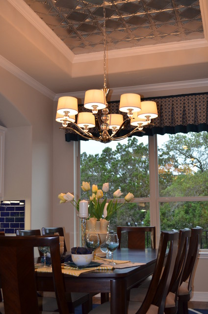 Amorosa-Bordeaux Model Home contemporary-dining-room
