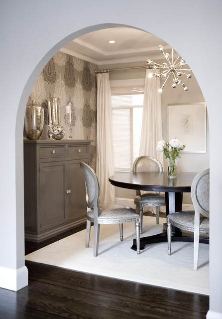 Amoroso Design transitional-dining-room