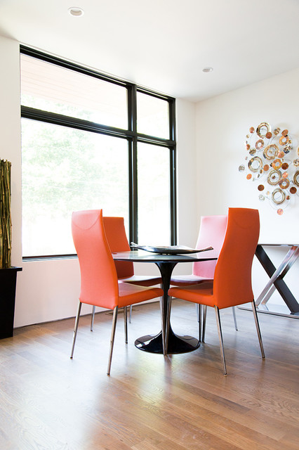 An Inspired Modern in Atlanta Contemporary Dining Room