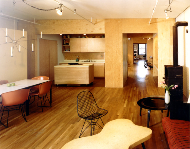 anderson apartment industrial dining room