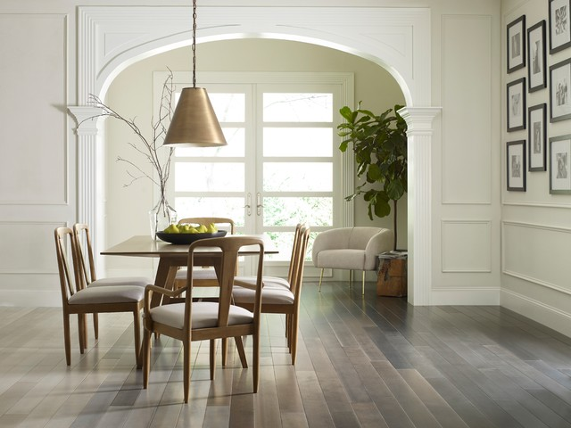 Anderson Tuxtex Flooring Collection by Shaw contemporary-dining-room