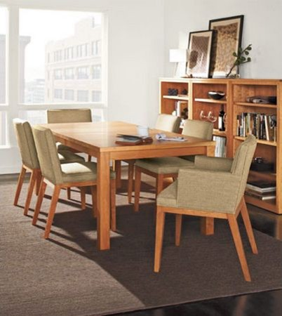 Andover dining table by R&B modern-dining-room