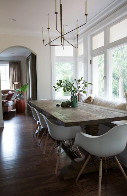 ann arbor hills english cottage   dining room   detroit
