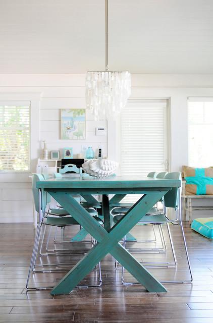 Anna Maria Beach House Style Dining Room