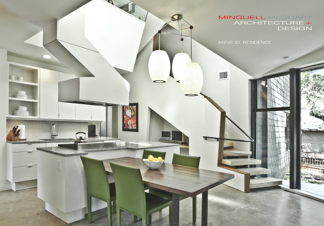 Annie Street Residence contemporary-dining-room