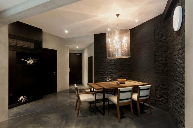 Apartment at Regent Park - Singapore contemporary-dining-room