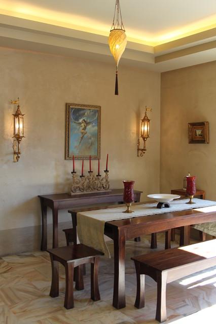 Apartment mediterranean-dining-room