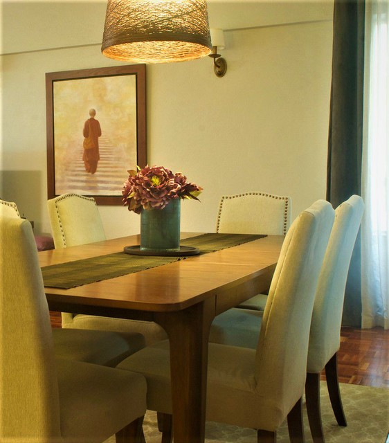 Apartment In Langham Court Nairobi Kenya Transitional Dining Room