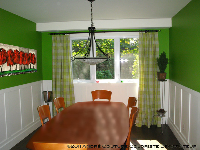 appel green dining room   dining room   montreal   by