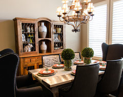 Appleton's Eclectic Dining contemporary-dining-room