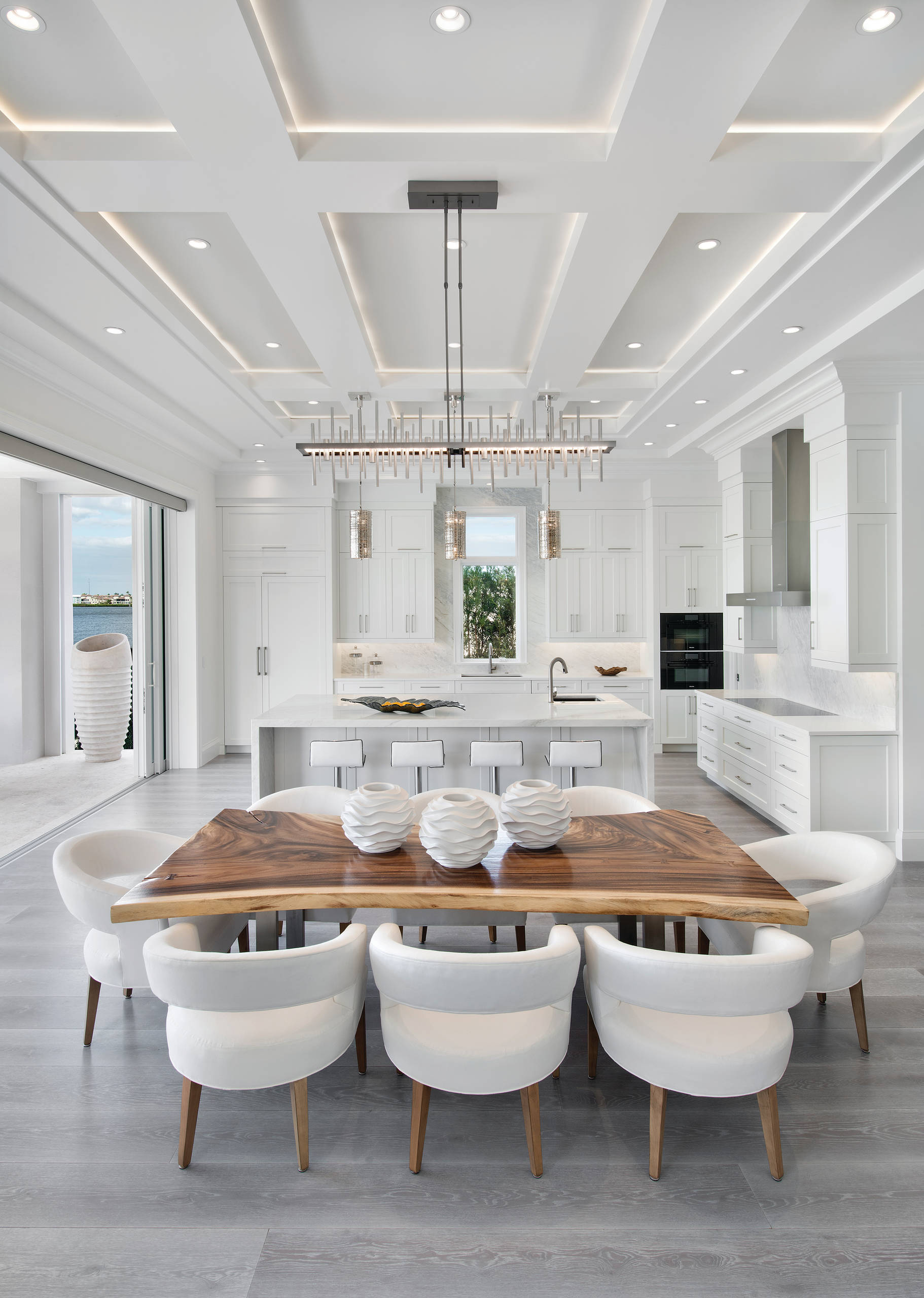 75 Beautiful White Dining Room Pictures Ideas February 2021 Houzz