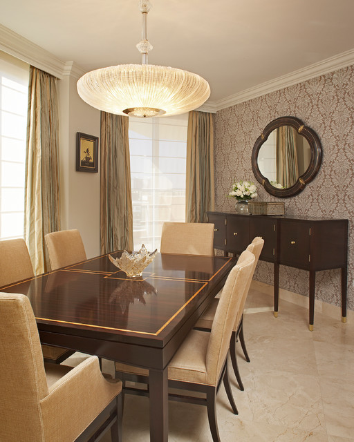 Victorian Dining Room: Sunny Isles, Florida