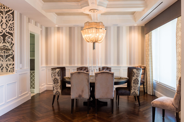 Arbutus classic luxury transitional dining room vancouver by beyond beige interior