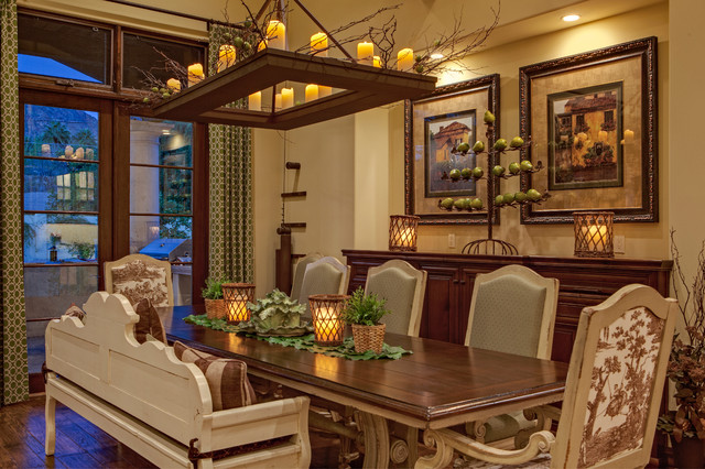 Arcadia French Country traditional-dining-room