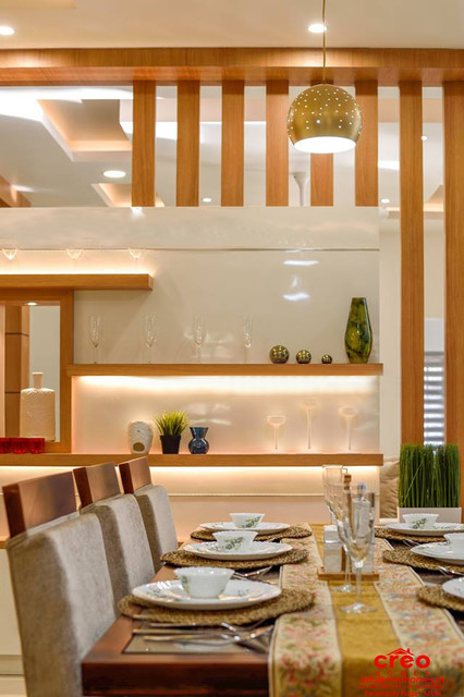 Architects In Kerala Asian Dining Room Other By Creo