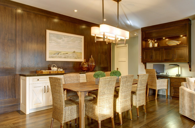 architectural elegance craftsman dining room calgary
