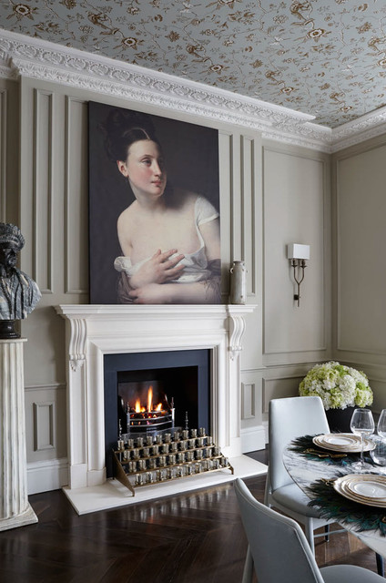 Architectural - London Townhouse traditional-dining-room