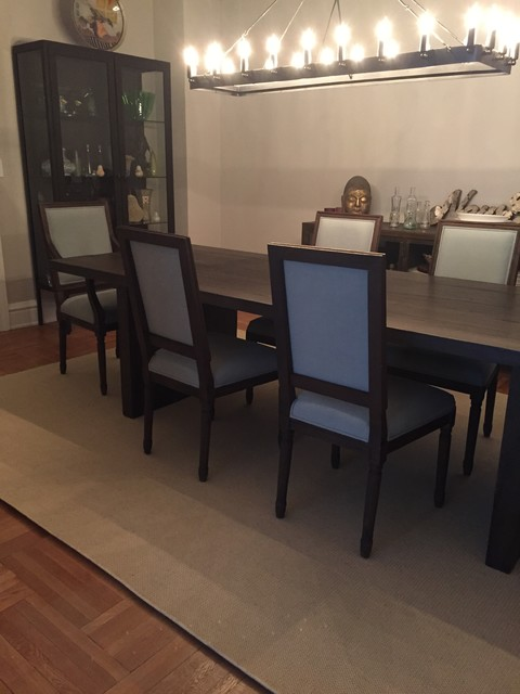Area Rug Contemporary Dining Room New York By Rugs That Fit