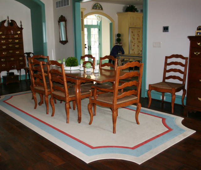 area rugs traditional dining room