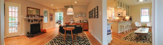 Arlington Colonial - Contemporary Renovation modern-dining-room