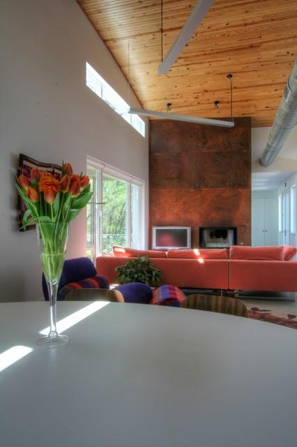 Arlington Residence contemporary-dining-room
