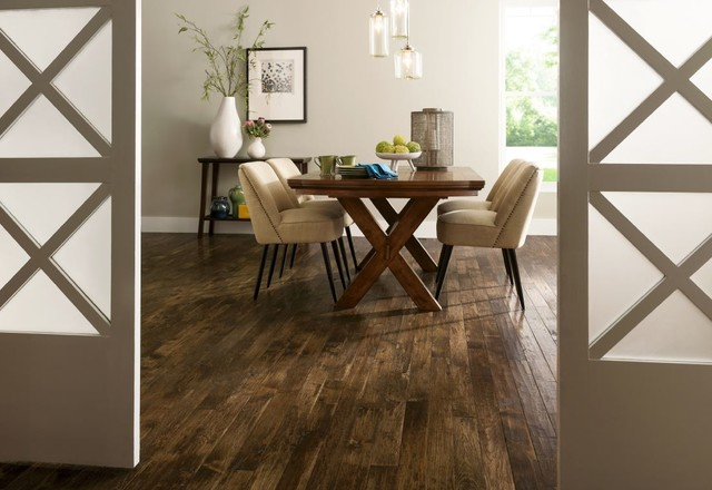 Armstrong American Scrape Hardwood Modern Dining Room