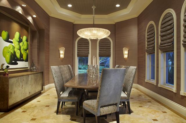 Arnold Schulman Contemporary Dining Room Miami By