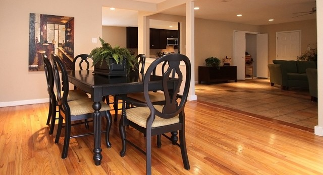 Array Investments & Houston Home Staging... midcentury-dining-room