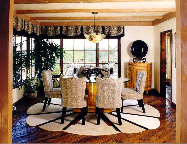 Art Deco Dining Room Eclectic Dining Room