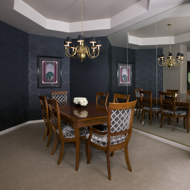 Art Deco Dining Room Robert Naik Photography Traditional Dining Room