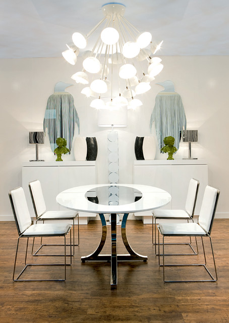 Contemporary Dining Room by Imagine Living