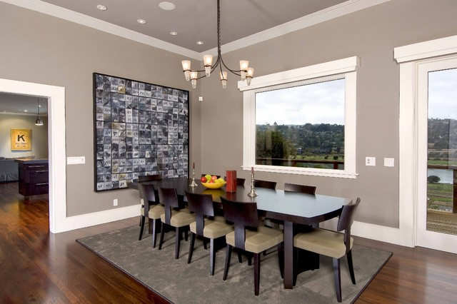 art contemporary-dining-room