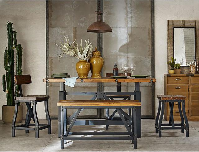 Art Van Furniture Industrial Dining Room Industrial Dining Room Detroit By Art Van Furniture Houzz Uk