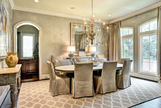 Dining Room   Contemporary Dining Room Idea In Houston