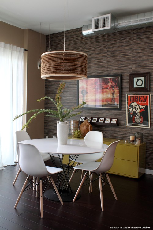 modern dining room Good Design Wants You! Propaganda Art In Your Home Decor