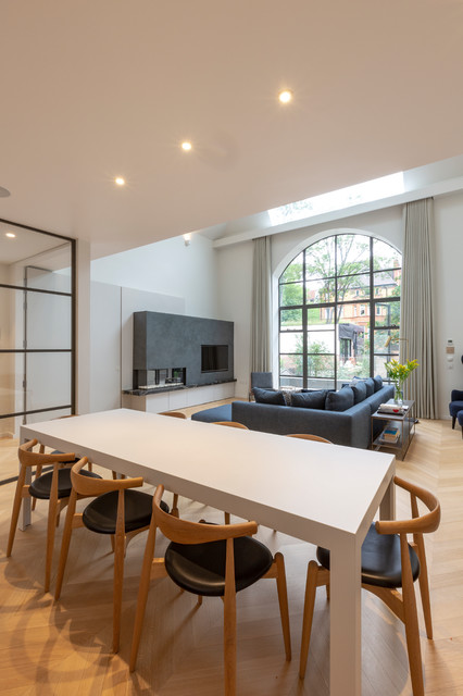 Artist Studio In North London Contemporary Dining Room