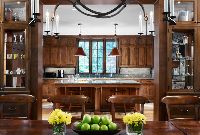 Arts & Crafts Home Restoration traditional-dining-room
