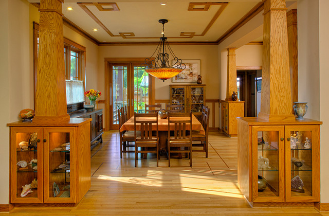 Arts amp Crafts Style Dining Room Craftsman