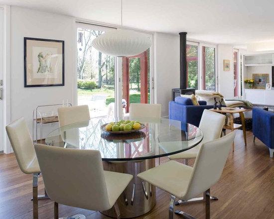 Modern dining table centerpiece home design photos
