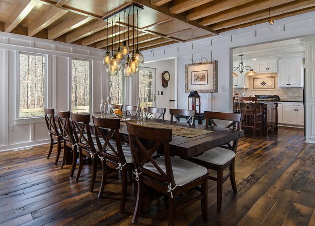 Ashland Va Two Story Addition Farmhouse Dining Room