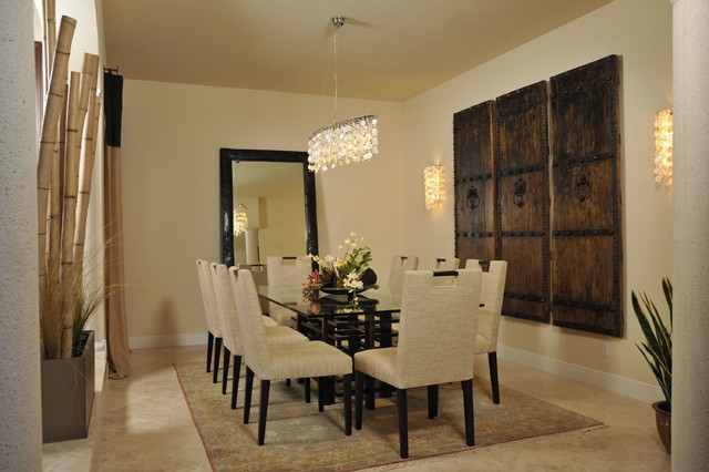 asian influence asian dining room other metro by