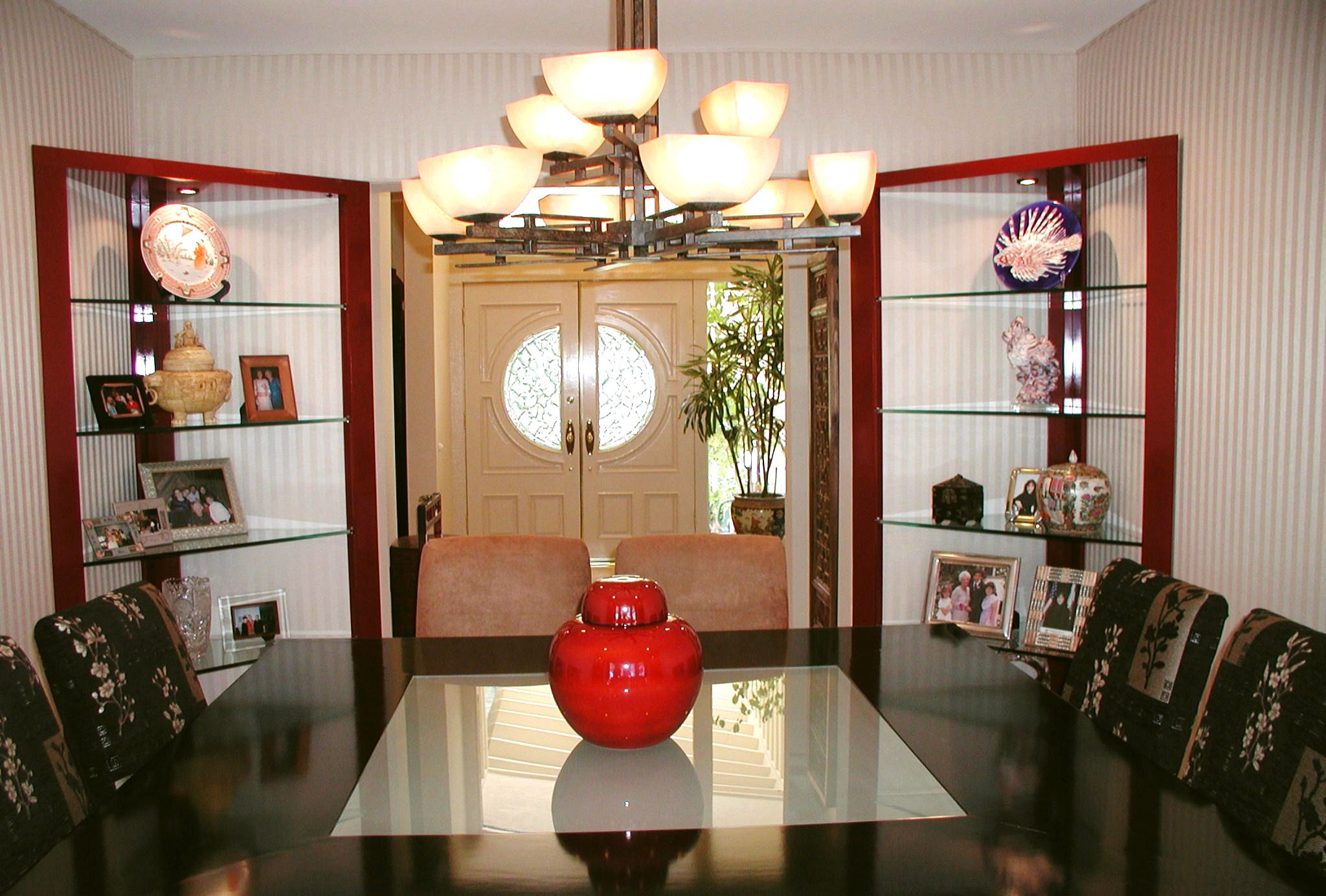 Asian Influenced Dining Room