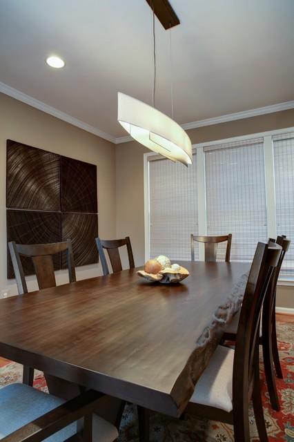 asian inspired dining room