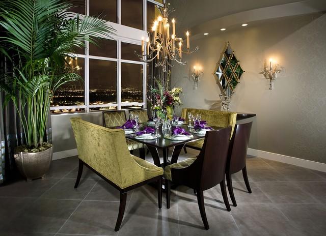 Astoria Dining contemporary-dining-room