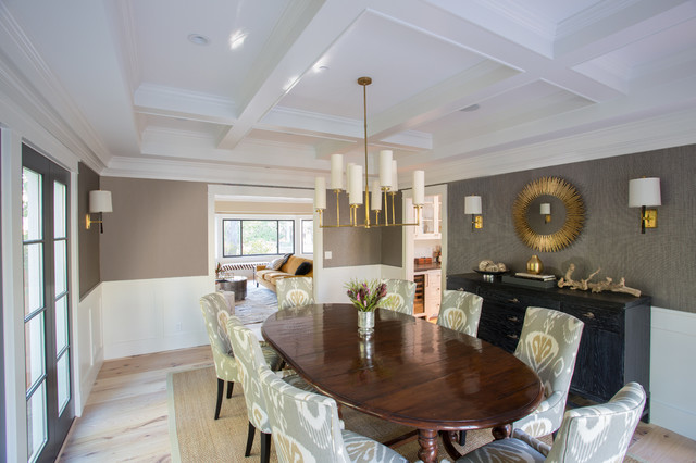 Atherton transitional dining room san francisco by for Dining room design questions