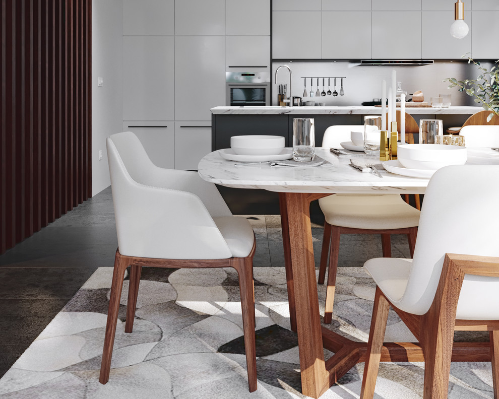 Aubrey Armchair Midcentury Dining Room Los Angeles By Rove Concepts