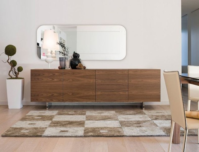 aura sideboard minimalistisch esszimmer chicago von iqmatics moderne living. Black Bedroom Furniture Sets. Home Design Ideas