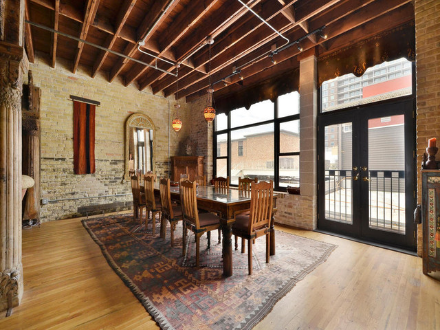 Austin Loft - Traditional - Dining Room - Austin - by Austin Properties Group